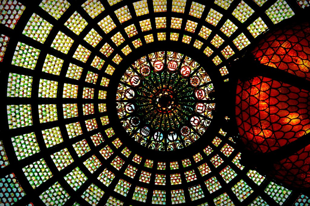 tiffany dome in chicago